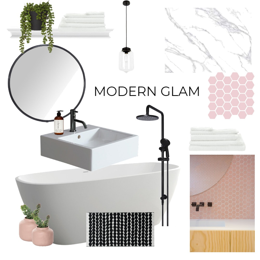 Modern Glam Interior Design Mood Board by ericaorlandi on Style Sourcebook