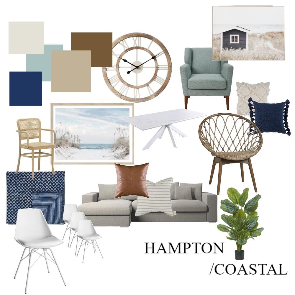 Hampton/Coastal Interior Design Mood Board by chloecollins on Style Sourcebook