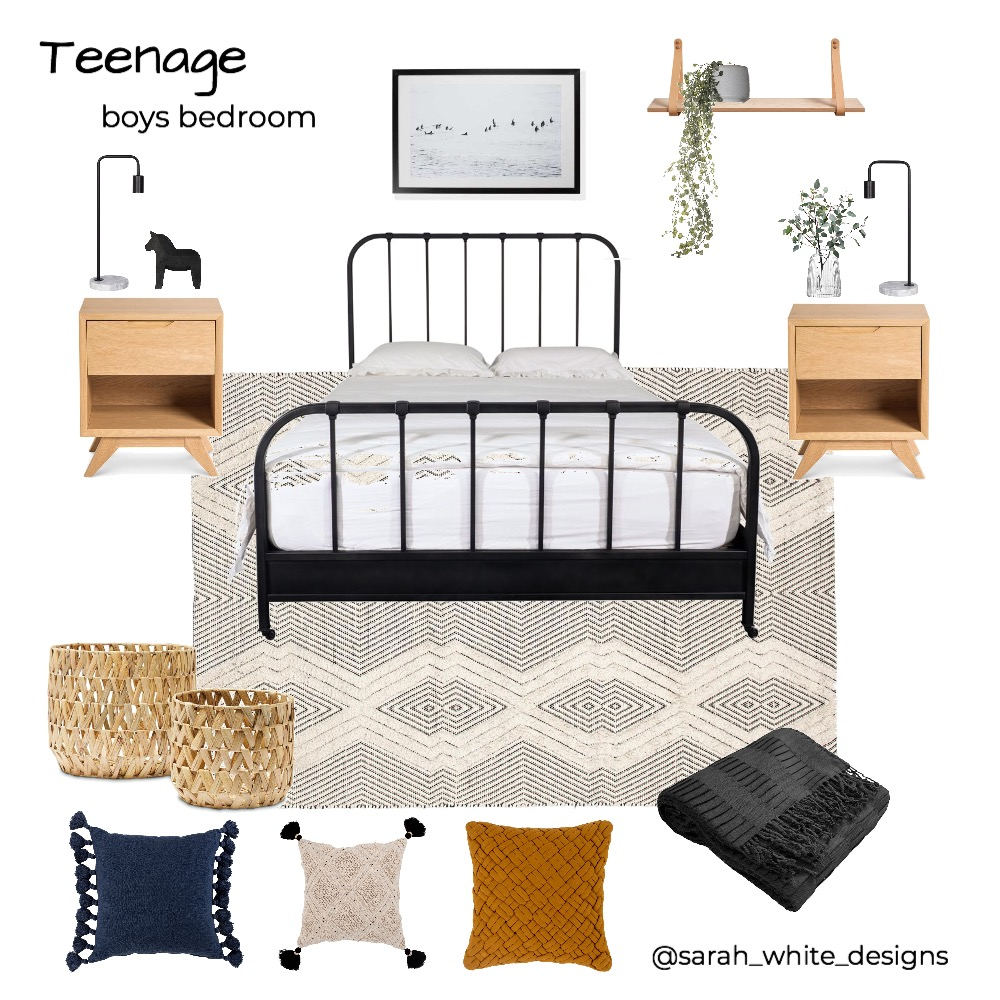 Jet's Room Interior Design Mood Board by WhiteDesigns on Style Sourcebook