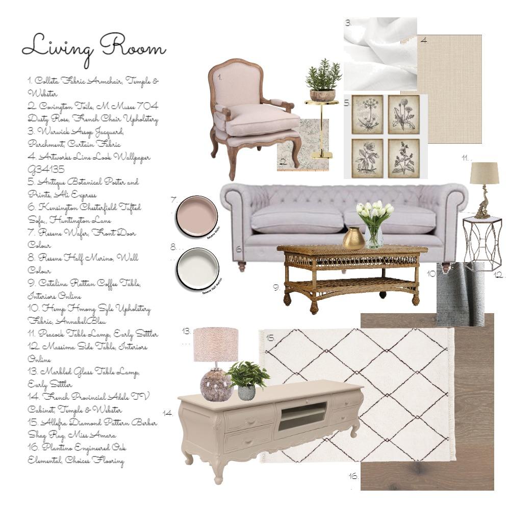 Living Room Mood Board Interior Design Mood Board by tracetallnz on Style Sourcebook