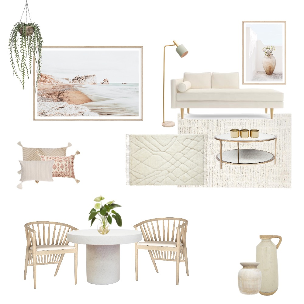 Coastal Luxe Interior Design Mood Board by Simplestyling on Style Sourcebook