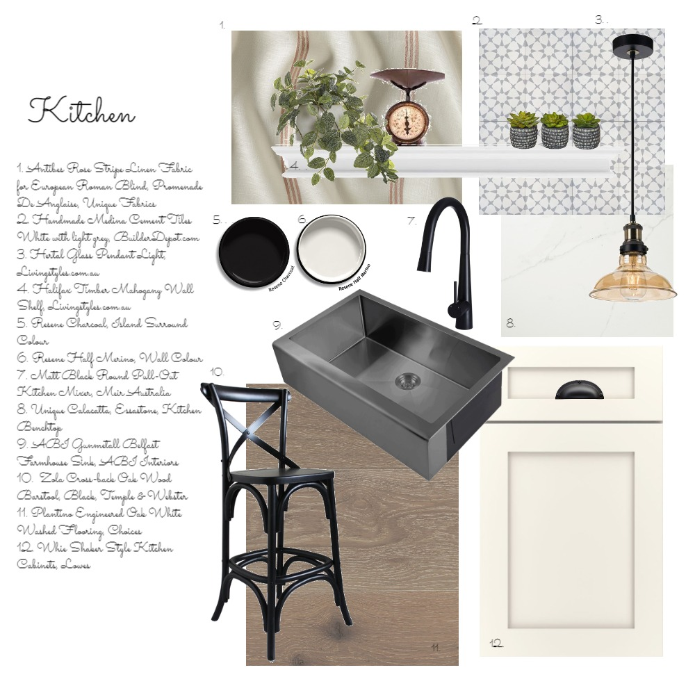 Kitchen Interior Design Mood Board by tracetallnz on Style Sourcebook