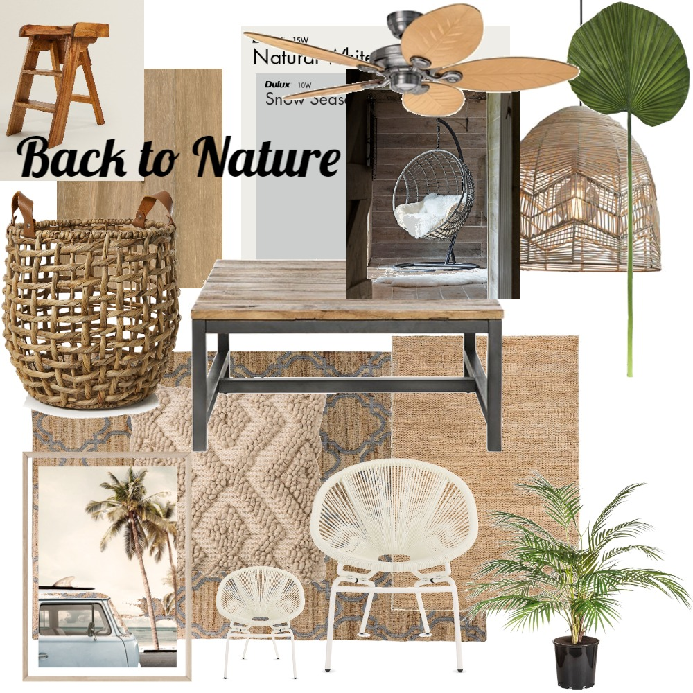Back to Nature Interior Design Mood Board by JillFarm on Style Sourcebook