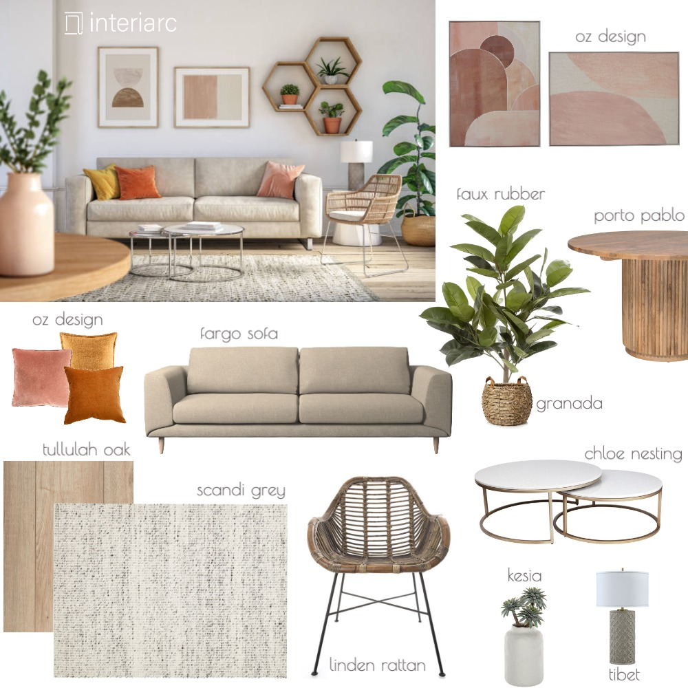 small&stylish Interior Design Mood Board by interiarc on Style Sourcebook