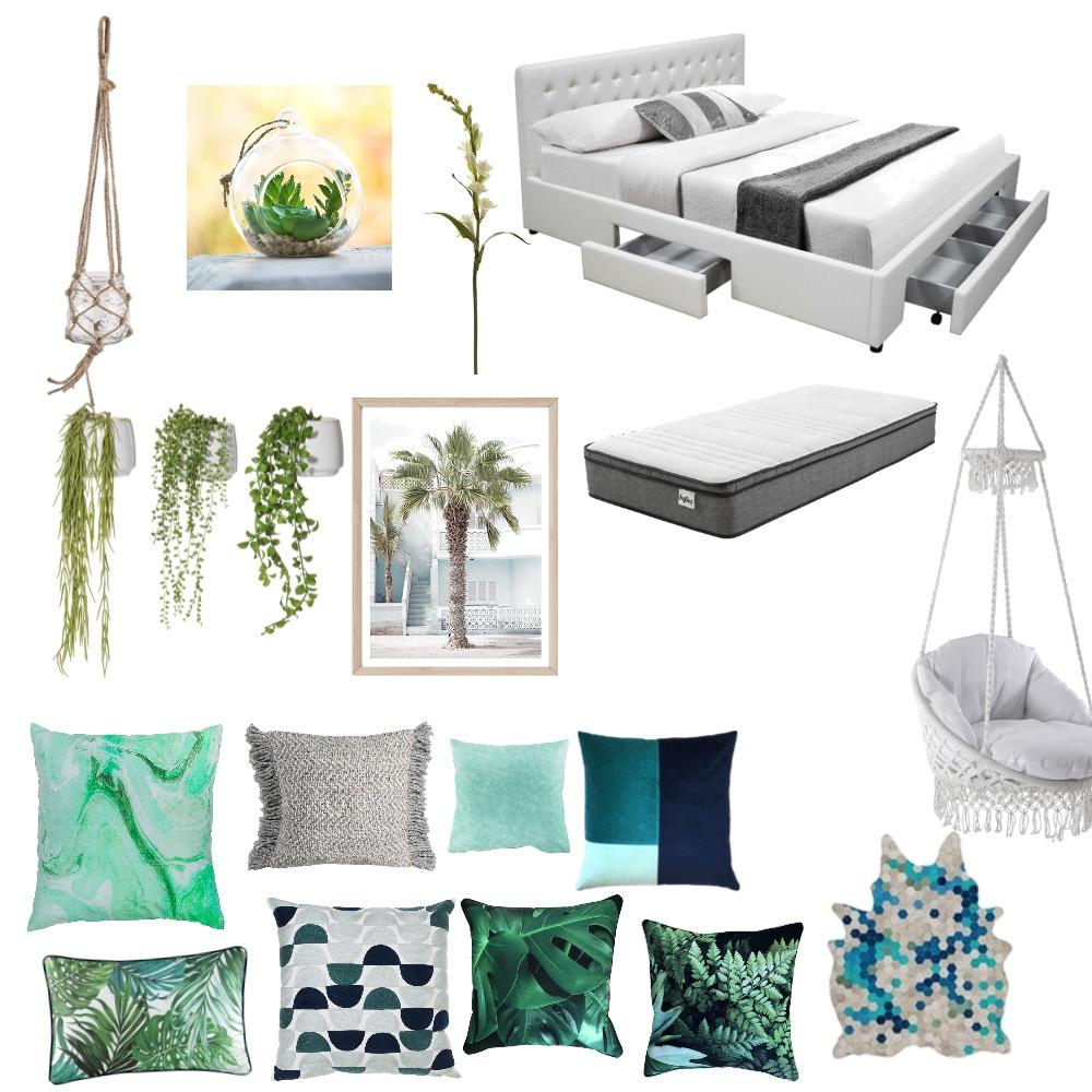 Laykas bedroom Interior Design Mood Board by Layka on Style Sourcebook