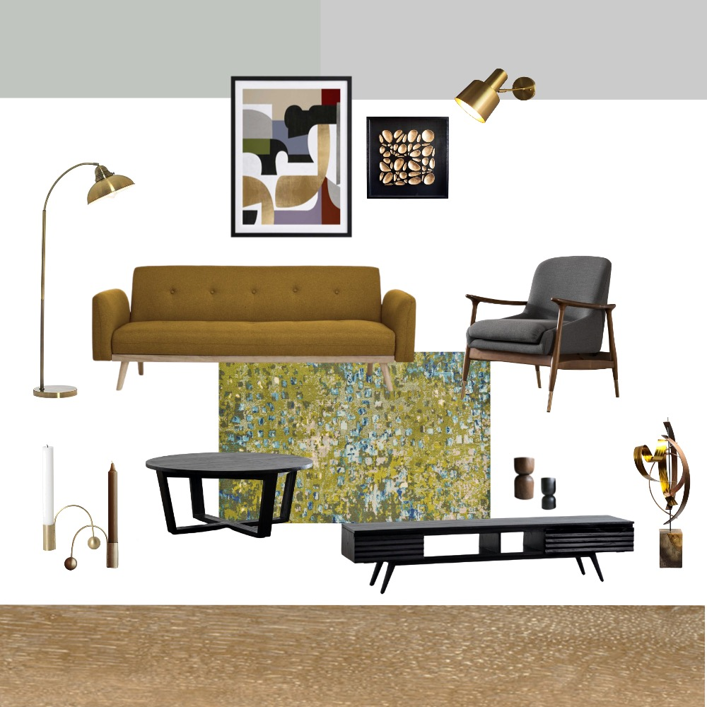Living Room Project 1.1.1 Interior Design Mood Board by paulinafee on Style Sourcebook