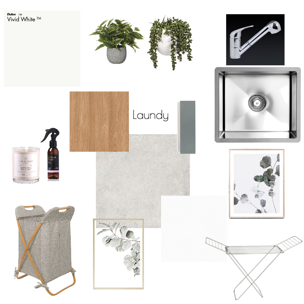 Laundry Interior Design Mood Board by allanahc on Style Sourcebook