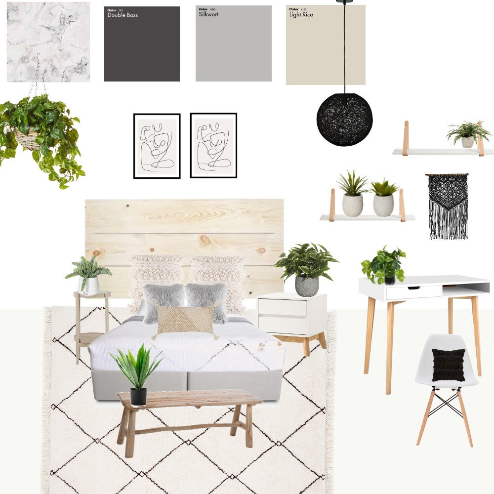 cuarto 1 Interior Design Mood Board by juli1107 on Style Sourcebook