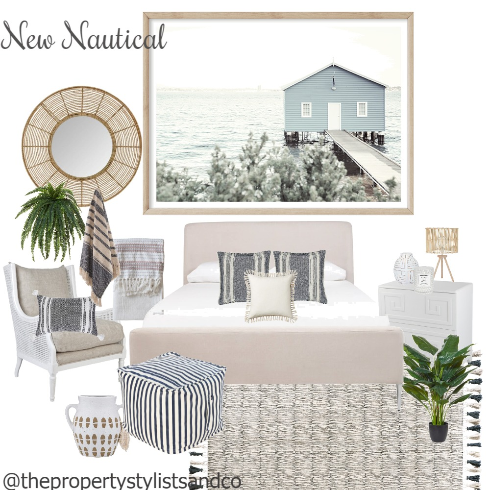 New Nautical Interior Design Mood Board by MishOConnell on Style Sourcebook