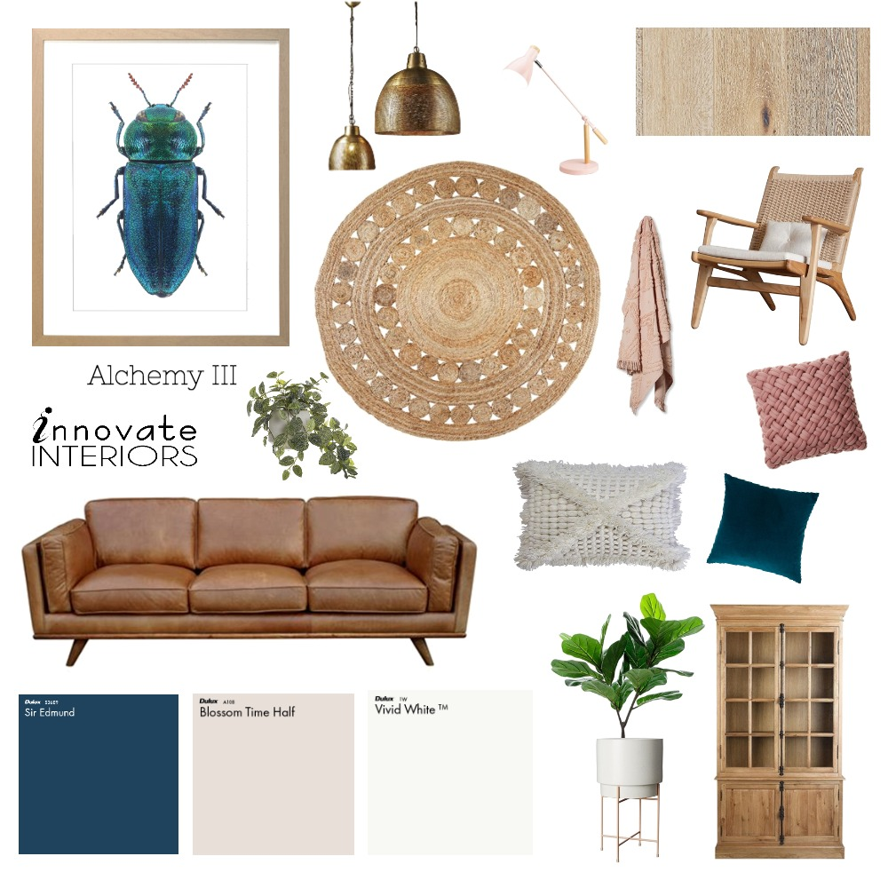 Innovate Interiors Alchemy Lounge Room Mood Board by Innovate Interiors on Style Sourcebook