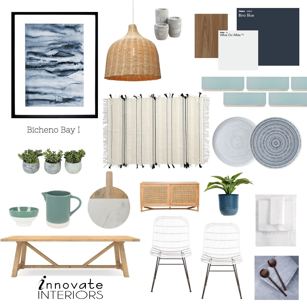 Innovate Interiors Bicheno Bay Dining Room Mood Board by Innovate Interiors on Style Sourcebook