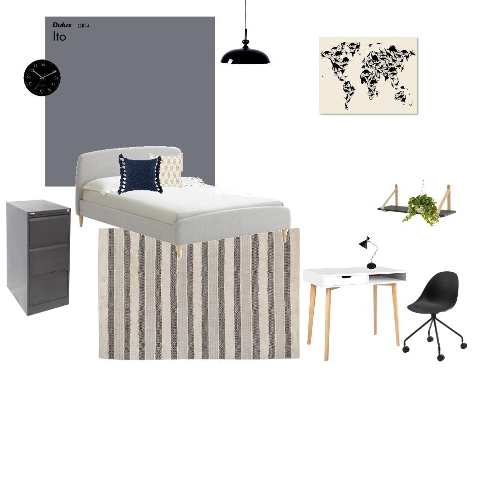 החדר של עידן Interior Design Mood Board by shirlyyakov on Style Sourcebook