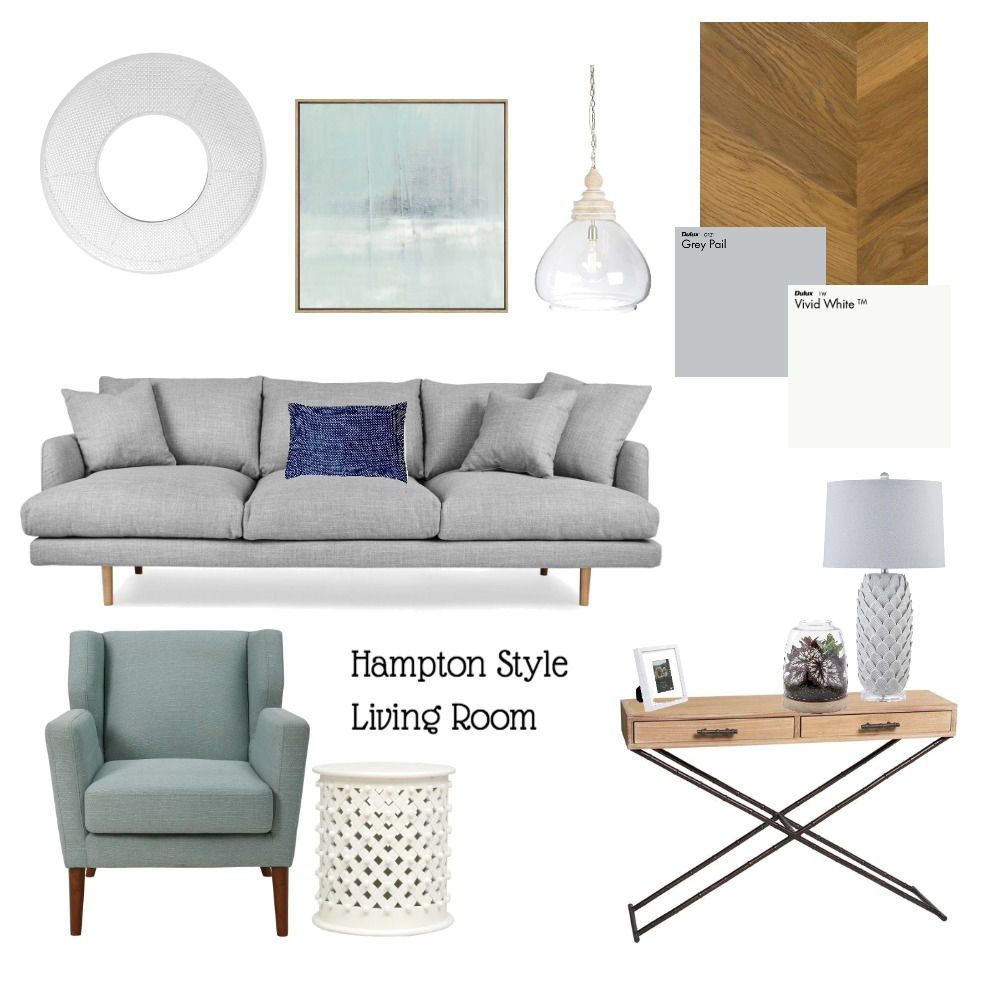 hampton lounge Interior Design Mood Board by jessiegarlick on Style Sourcebook