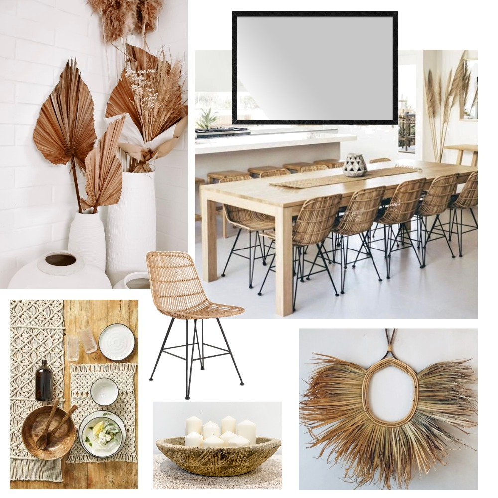 dining coastal black hamptons Interior Design Mood Board by Sisu Styling on Style Sourcebook