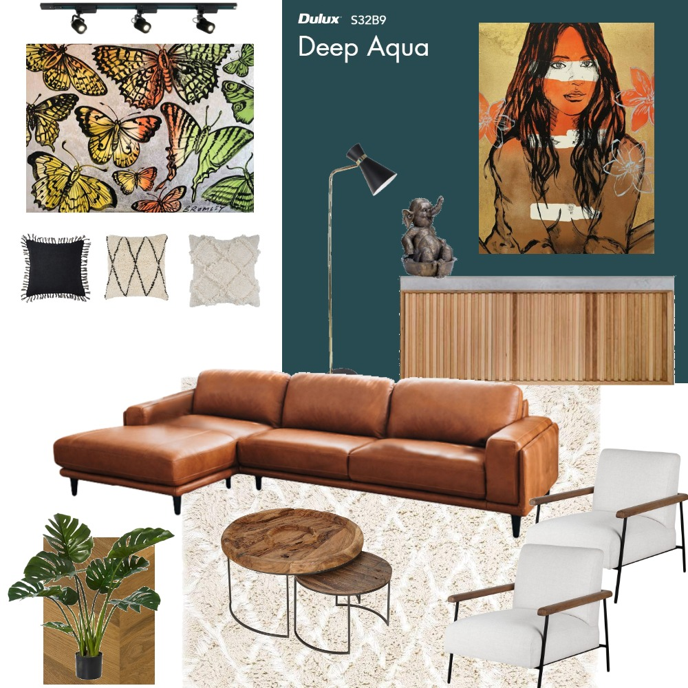 Tropical Living Room 5 Interior Design Mood Board by anaabasso on Style Sourcebook