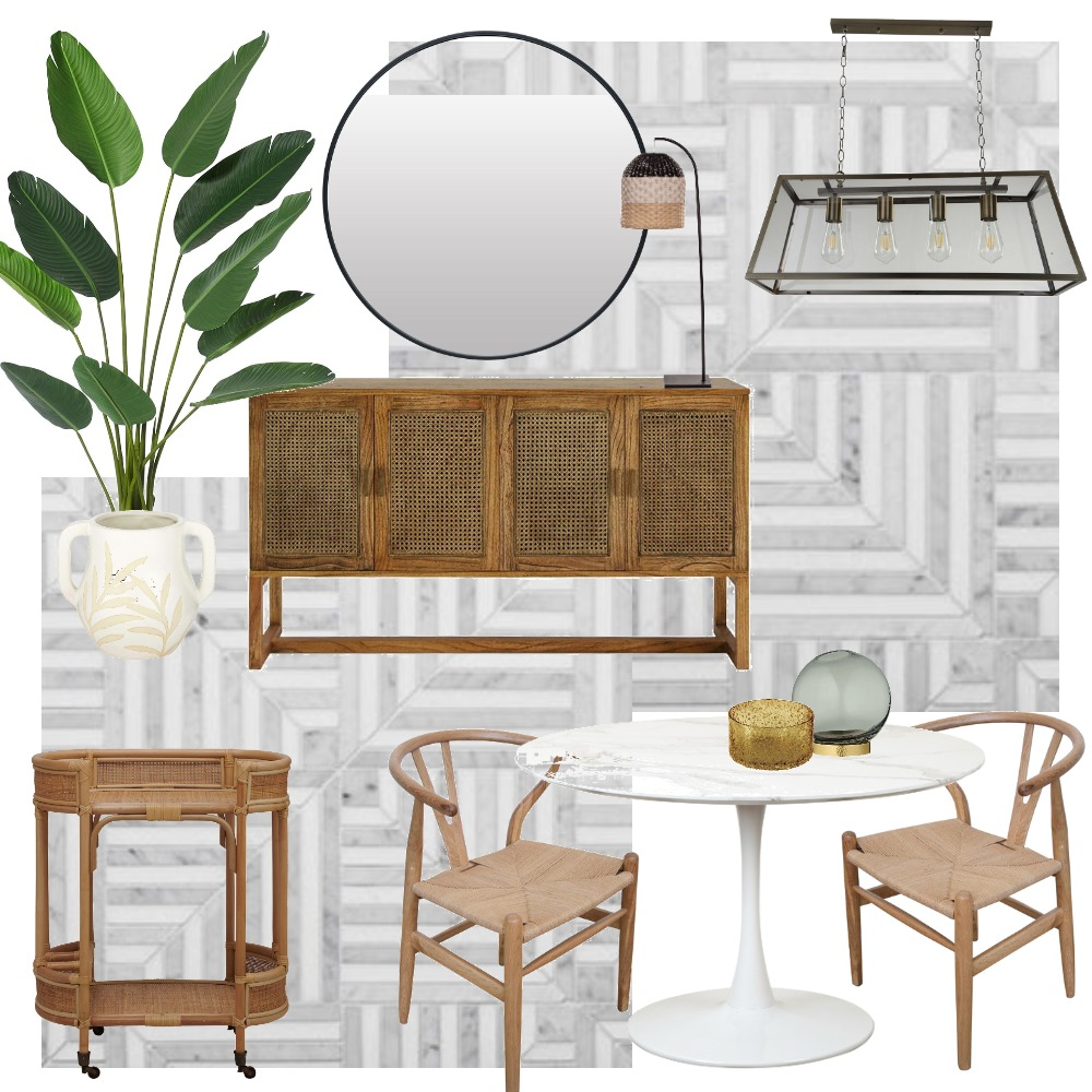 Everyday Dining Room Interior Design Mood Board by LaraFernz on Style Sourcebook