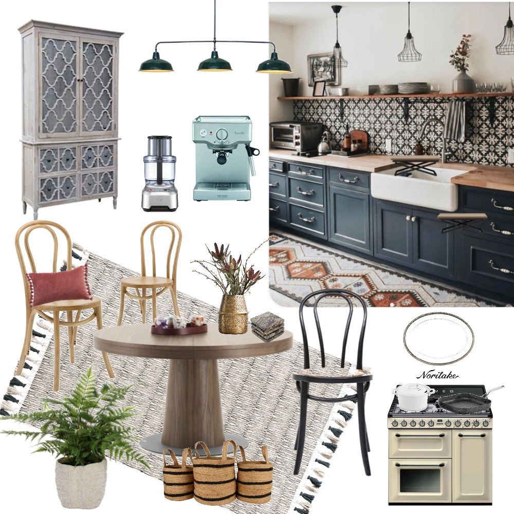 Kitchen-no.1 Interior Design Mood Board by Deco My World on Style Sourcebook