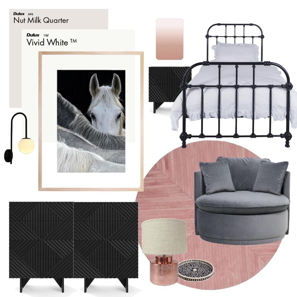 Teen Bedroom Girl #1 Interior Design Mood Board by LaraFernz on Style Sourcebook