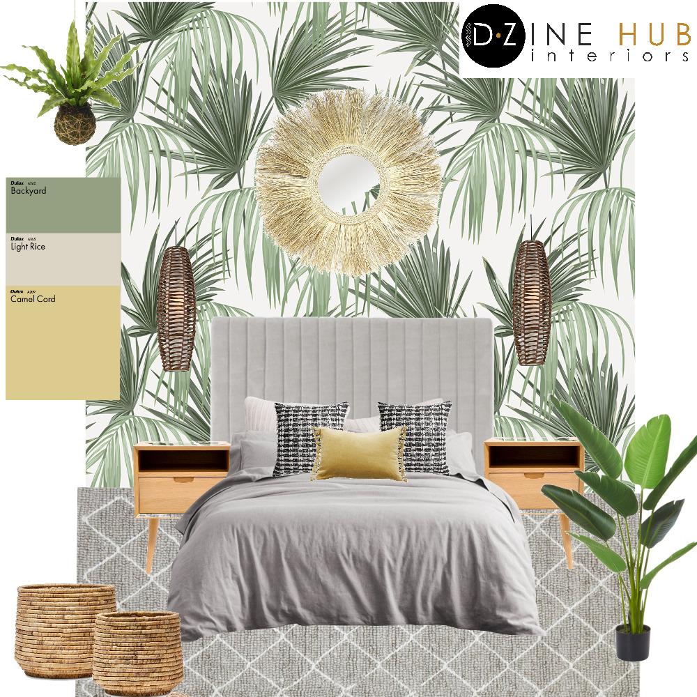 Scandinavian Bedroom Interior Design Mood Board by D'Zine Hub Interiors on Style Sourcebook