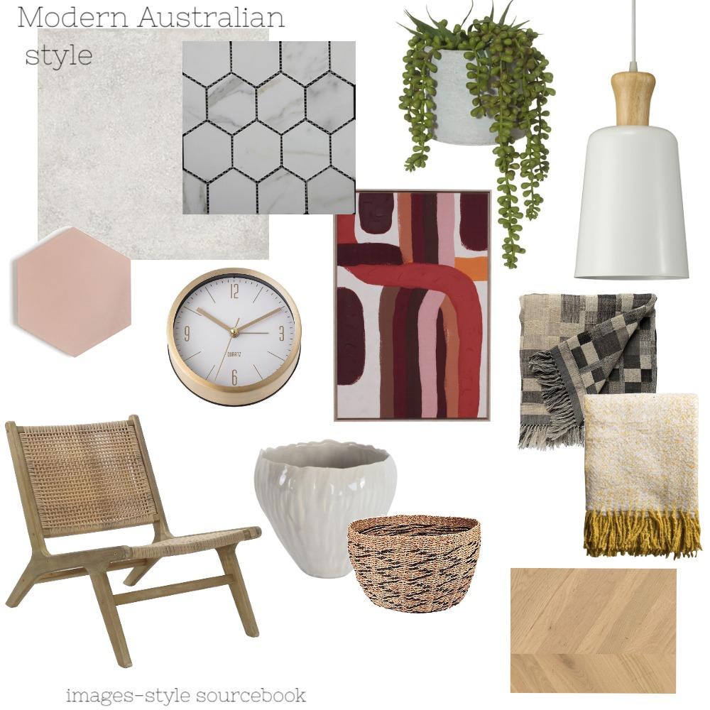 Modern Australian bathroom mood board Interior Design Mood Board by Jo Murphy on Style Sourcebook