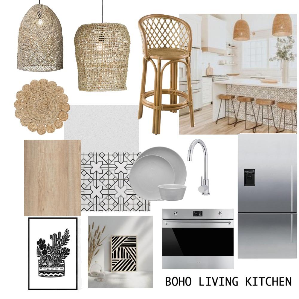 boho kitchen Interior Design Mood Board by jessiegarlick on Style Sourcebook