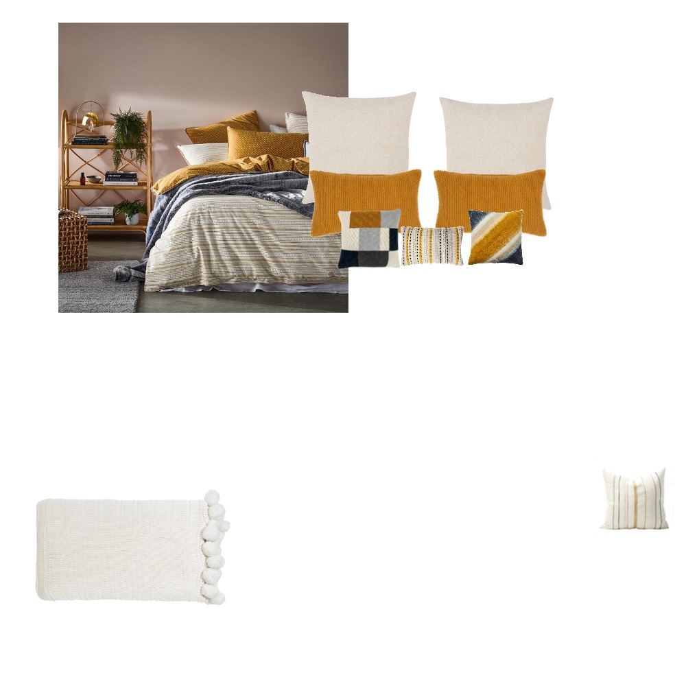 Downstairs bed Interior Design Mood Board by nessielig on Style Sourcebook