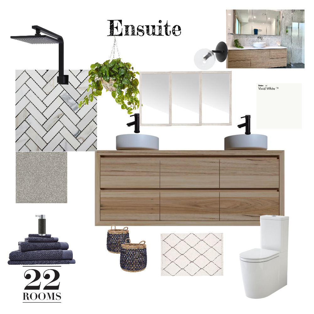 Lina and Ivano's Ensuite Interior Design Mood Board by RachelC on Style Sourcebook