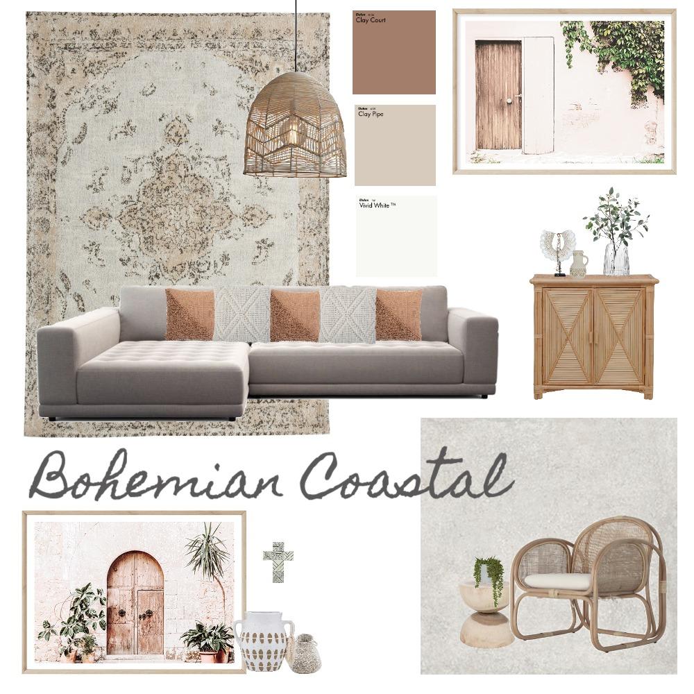 Bohemian Coastal Interior Design Mood Board by Effie Dallas on Style Sourcebook
