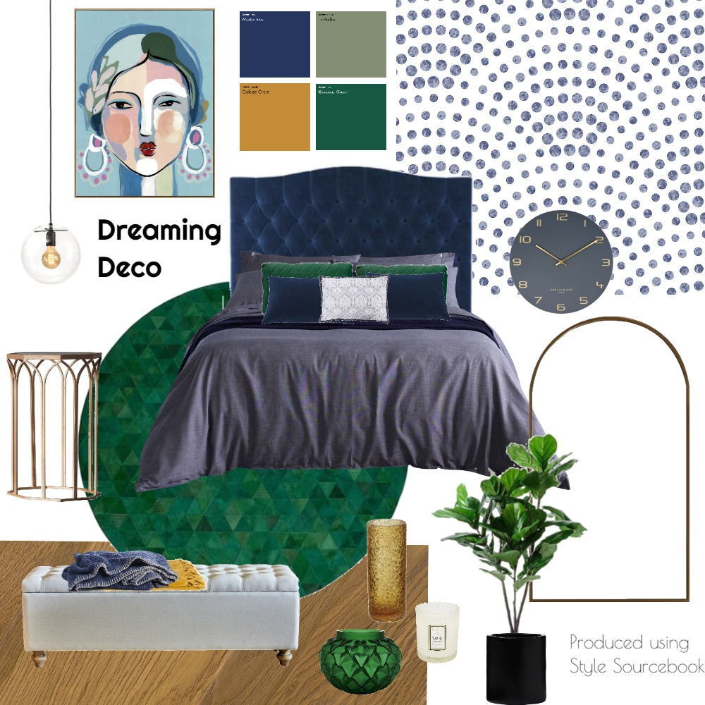 Dreaming Deco Interior Design Mood Board by neda on Style Sourcebook