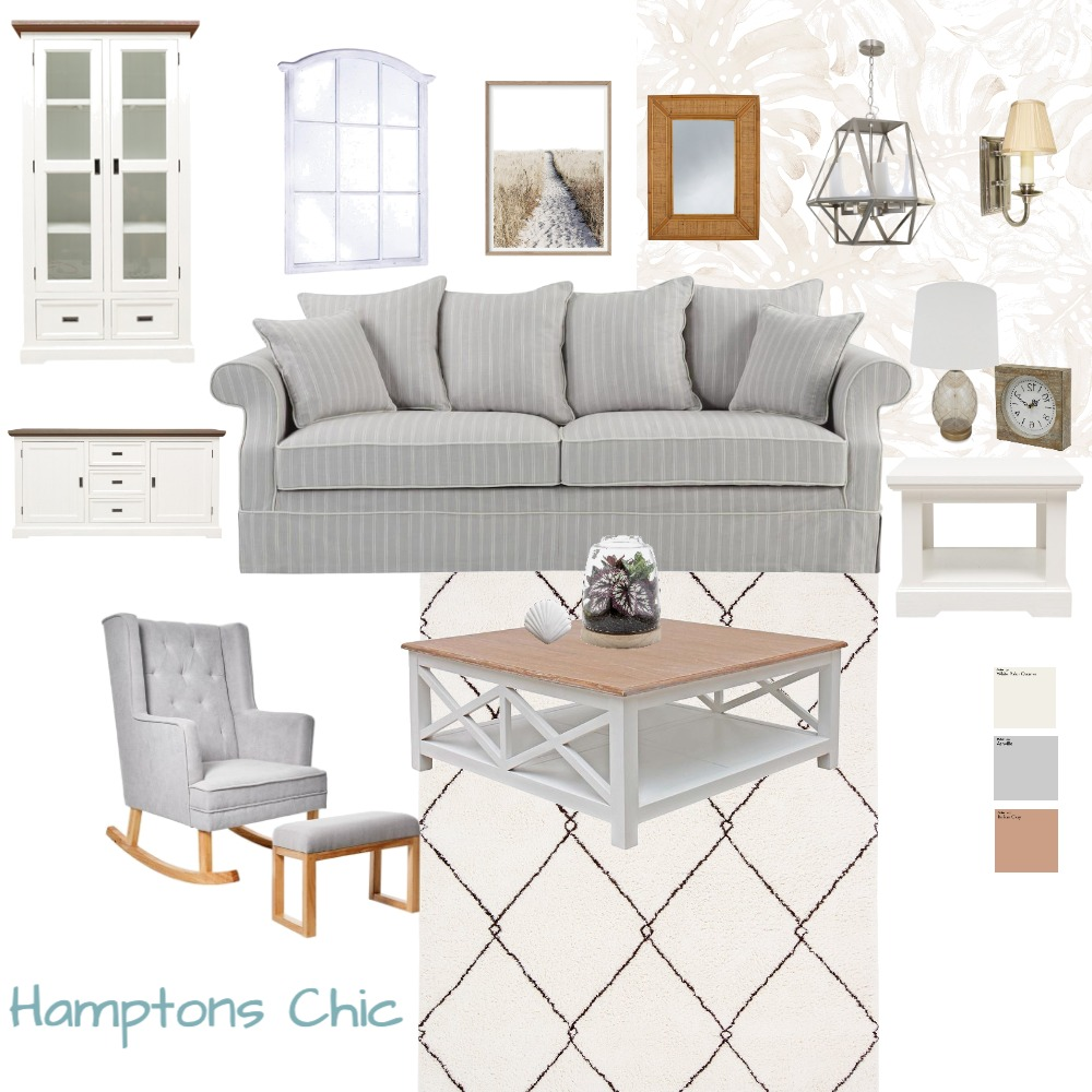 Module 3 Hamptons Interior Design Mood Board by Interior Luxe by Farheen on Style Sourcebook