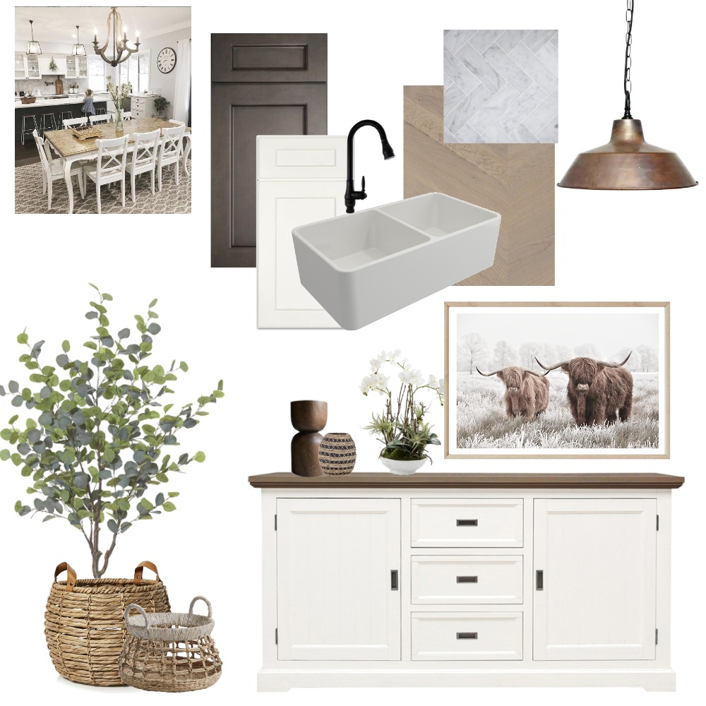 Farmhouse Kitchen Interior Design Mood Board by Lisa Maree Interiors on Style Sourcebook