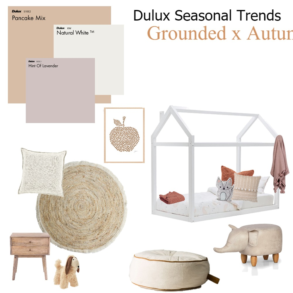 Grounded x Autumn Interior Design Mood Board by Dulux Australia on Style Sourcebook