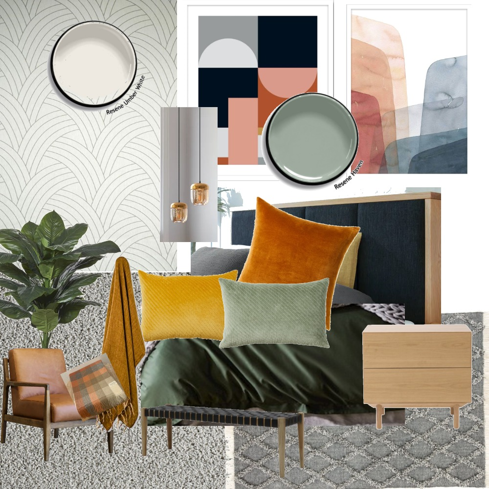 Fresh, Modern, Charming Interior Design Mood Board by Meshell on Style Sourcebook