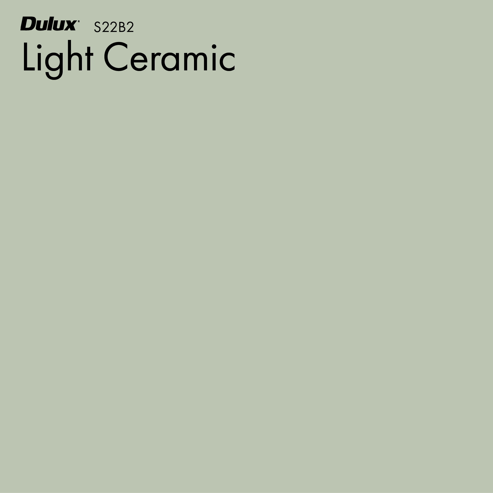 Light Ceramic by Dulux, a Reset for sale on Style Sourcebook