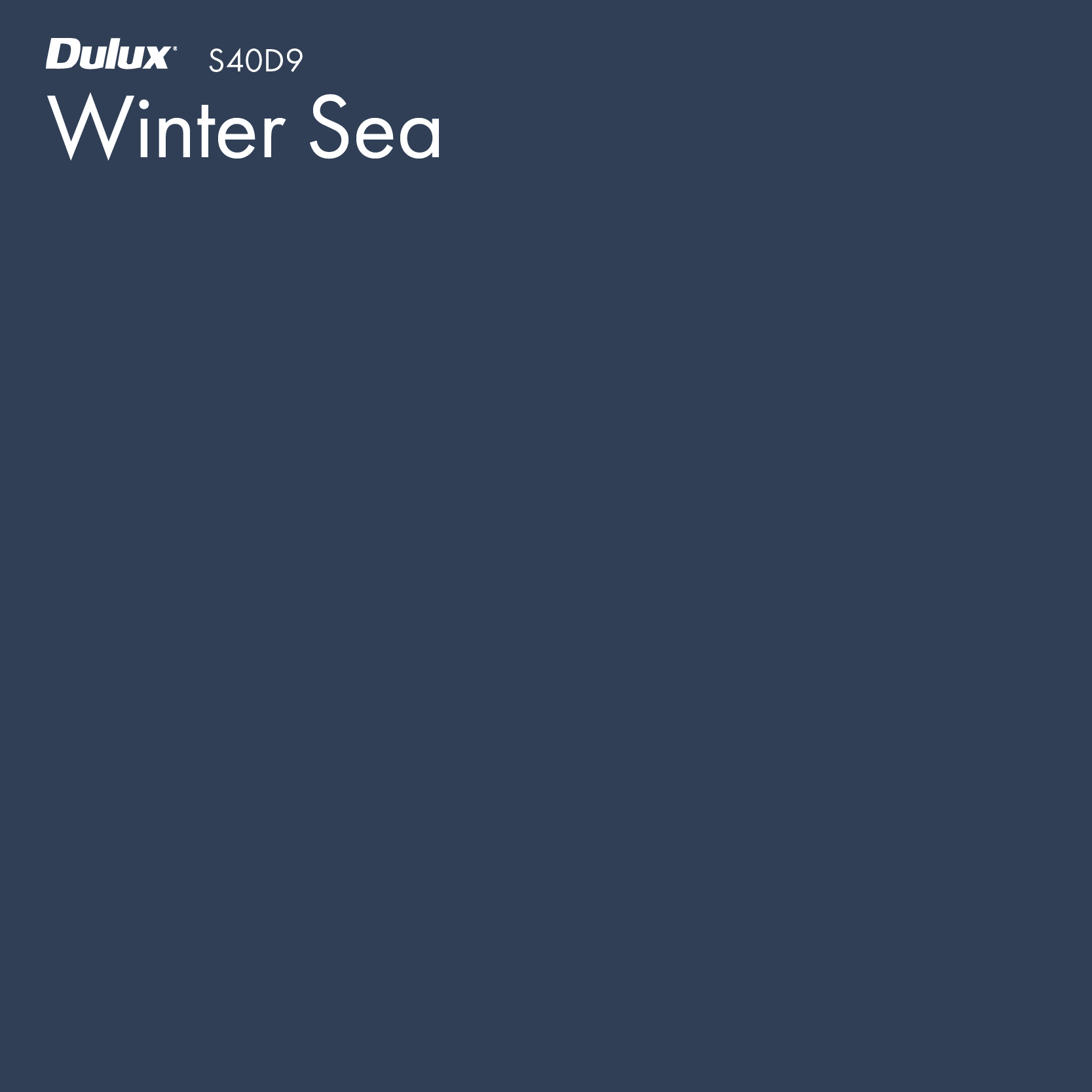 Winter Sea by Dulux, a Retreat for sale on Style Sourcebook