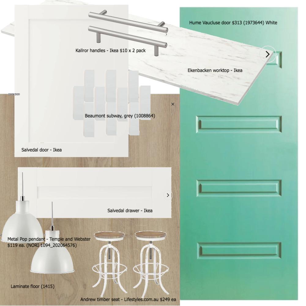 hayleys kitchen 2 Interior Design Mood Board by Our house on Style Sourcebook