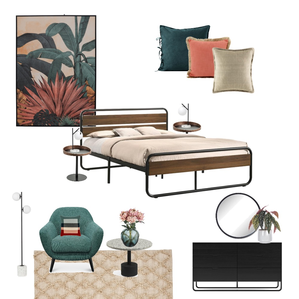 Mid century modern Interior Design Mood Board by Simplestyling on Style Sourcebook