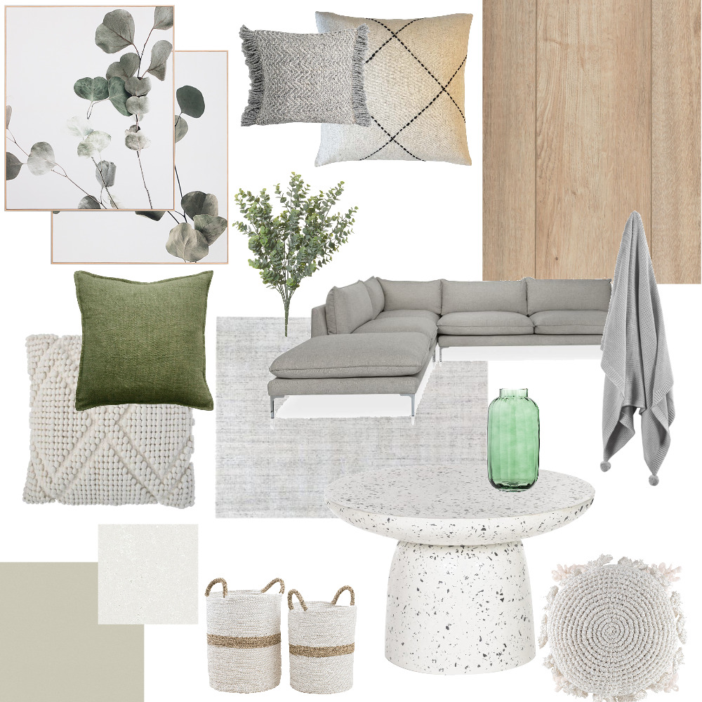 Living Room Interior Design Mood Board by Alicia Paige on Style Sourcebook