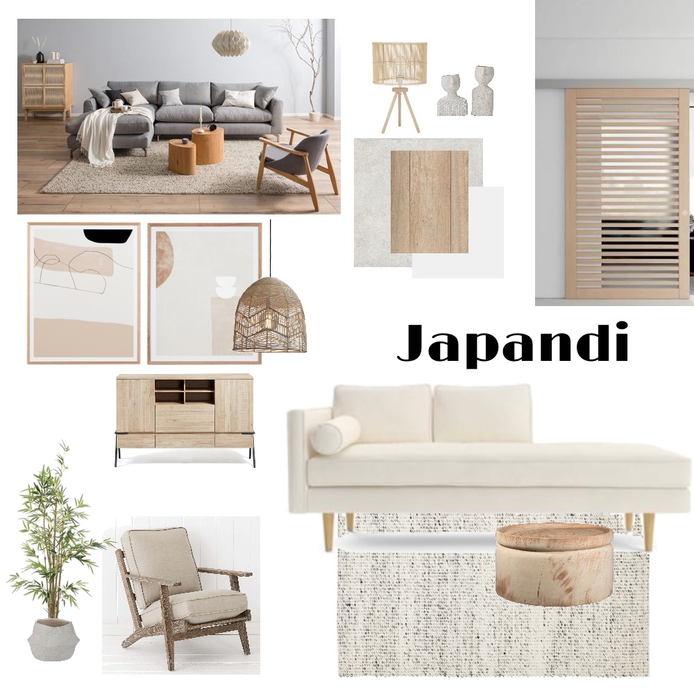Japandi Interior Design Mood Board by Phuong Ngo on Style Sourcebook