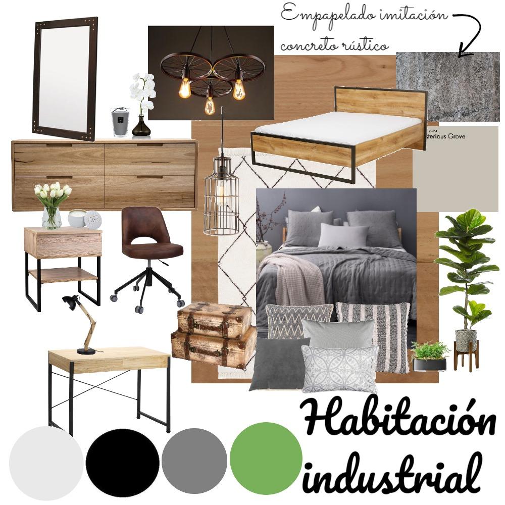 habitacion de Eufe Interior Design Mood Board by gise on Style Sourcebook