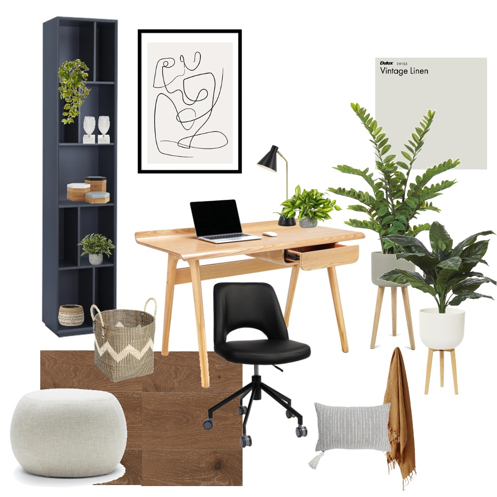 home office Interior Design Mood Board by ecs22 on Style Sourcebook