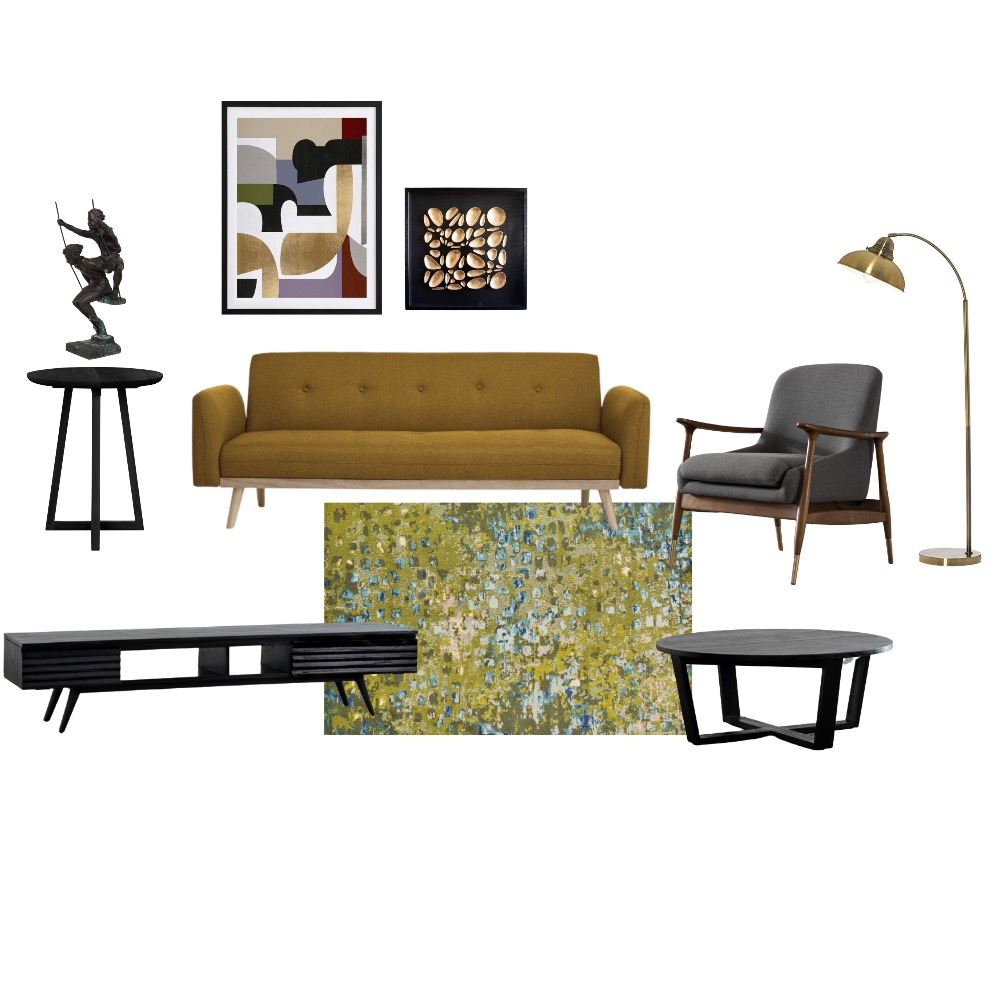 Living Room furniture Interior Design Mood Board by paulinafee on Style Sourcebook
