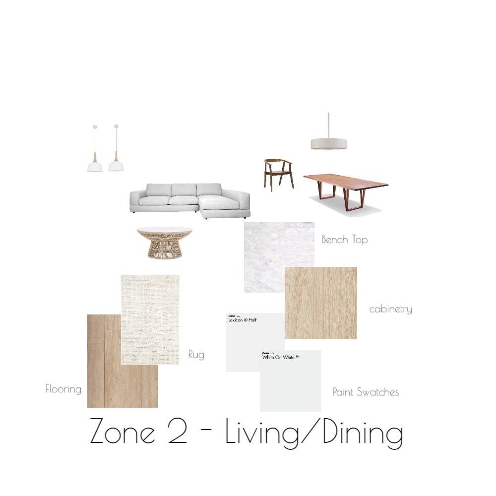 Zone 2 Interior Design Mood Board by lucytoth on Style Sourcebook