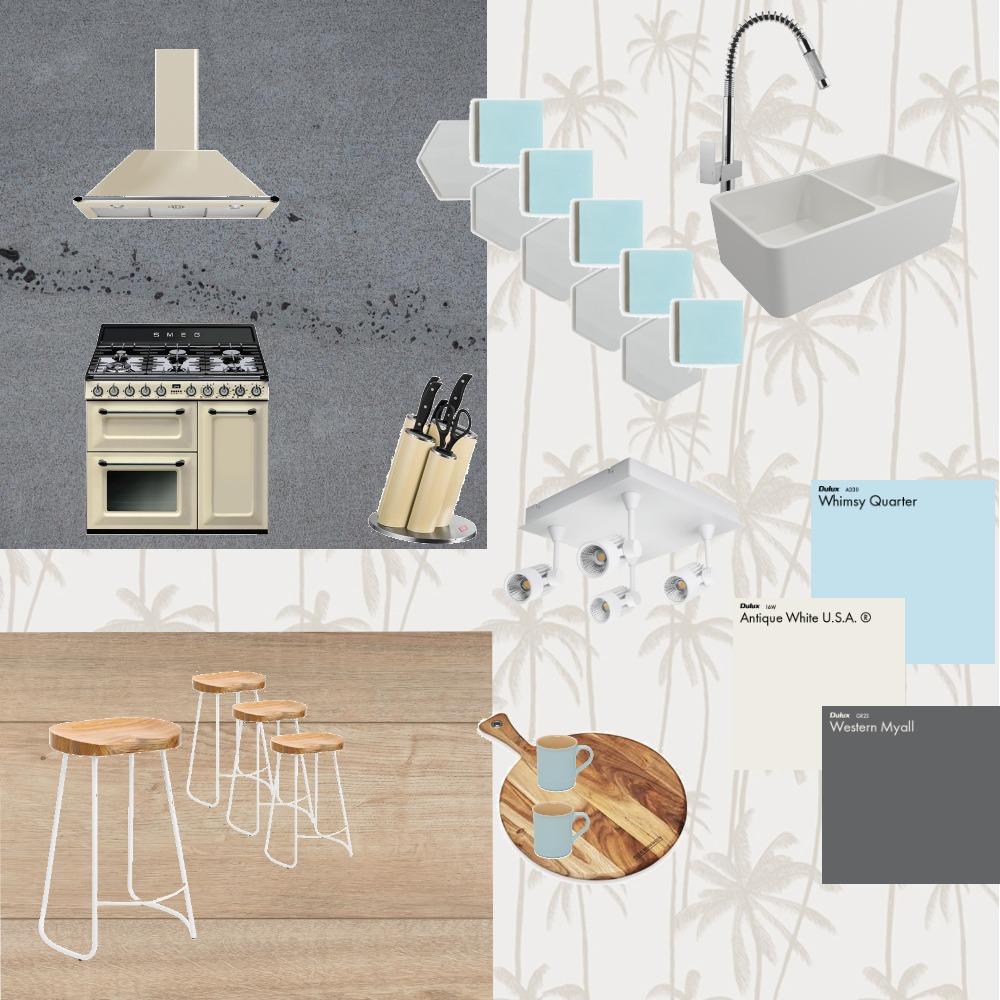 Cream Kitchen Interior Design Mood Board by Fresh Start Interiors on Style Sourcebook