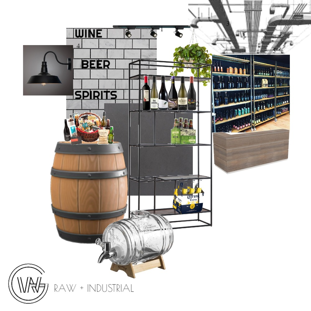 INDUSTRIAL + RAW Interior Design Mood Board by wissam.gorgees on Style Sourcebook
