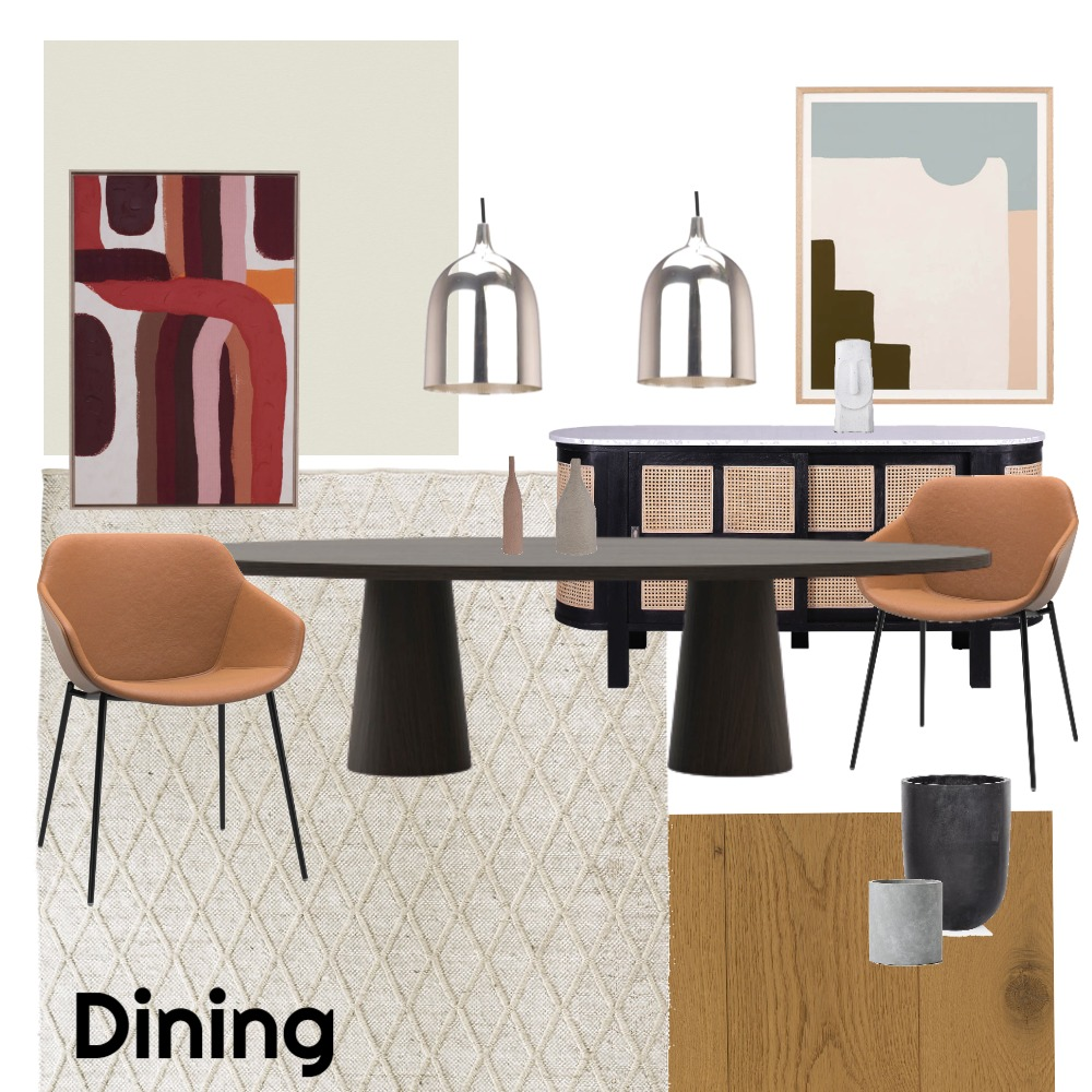 Dining Interior Design Mood Board by And7 on Style Sourcebook