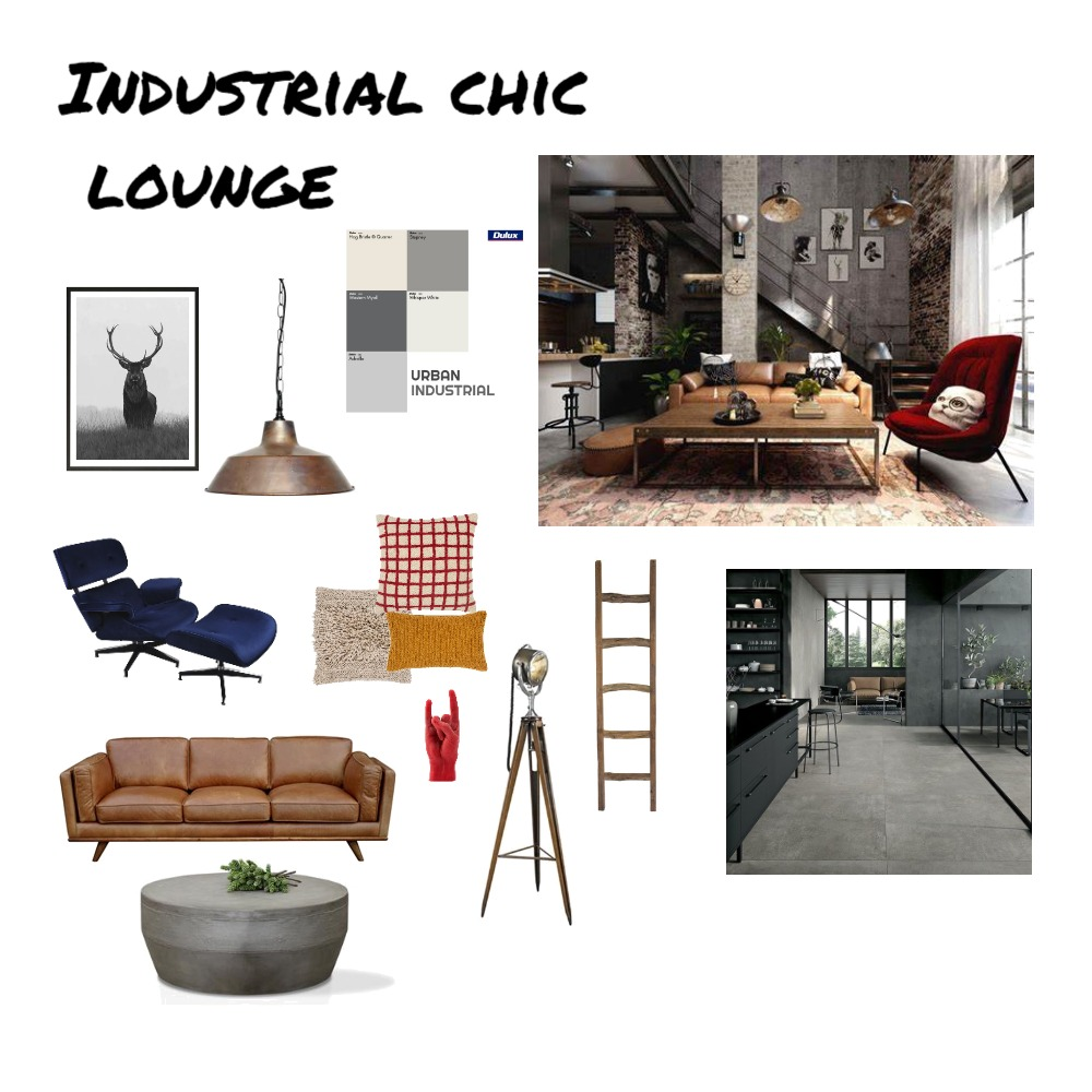 Module 3: Mood board Interior Design Mood Board by kwalsh on Style Sourcebook