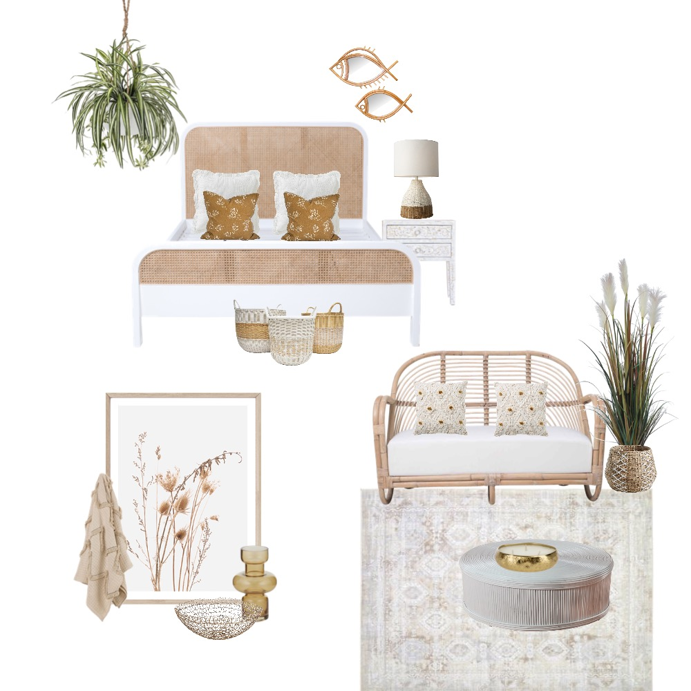 Relaxed Bedroom Interior Design Mood Board by Simplestyling on Style Sourcebook