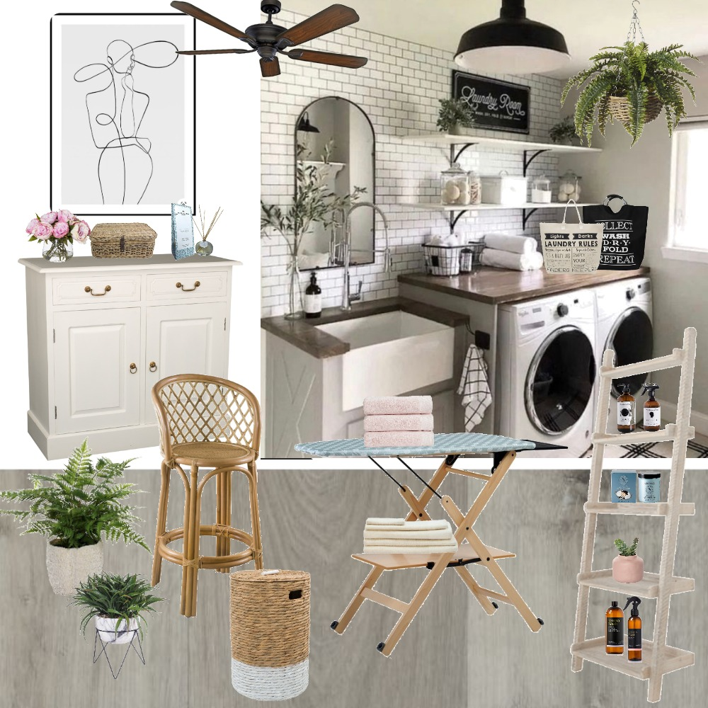 Laundry room-01 Interior Design Mood Board by Deco My World on Style Sourcebook
