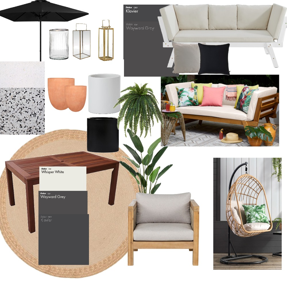 Outdoor Interior Design Mood Board by emilyind on Style Sourcebook